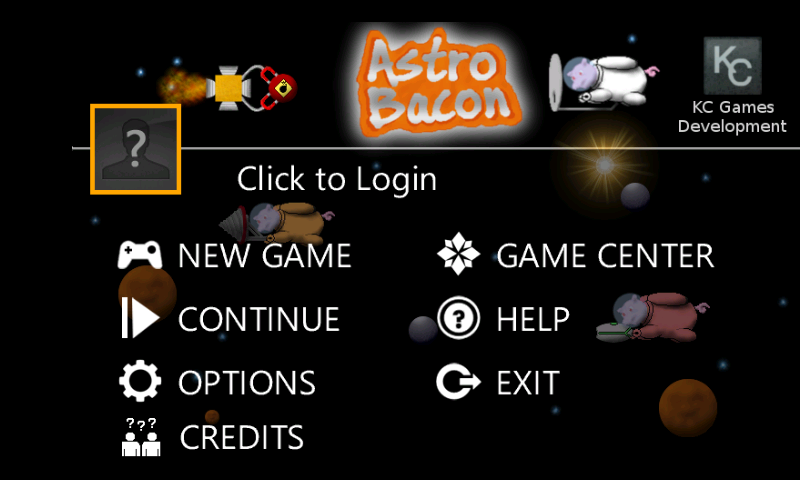 Astro Bacon Home